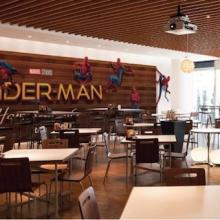 六本木に「スパイダーマンカフェ」誕生--映画をイメージしたメニューも