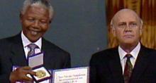 ノーベル平和賞授賞式でなぜ2人は目を合わせなかったのか――アパルトヘイト撤廃へ尽力した2人の政治家 マンデラvsデクラーク