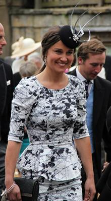 ほとんど王族 キャサリン妃の妹「ピッパ」挙式への注目