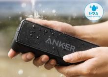 Anker、ベストセラースピーカーに防水・ドライバー強化した「SoundCore 2」発売