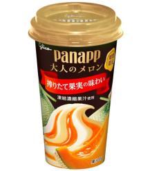 大人の贅沢パフェアイス「パナップ 大人のメロン」--濃厚ミルクアイス×赤メロンソースの組み合わせ