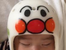 """大渕愛子 次男の""""頭の形矯正ヘルメット""""治療経過を報告する"""