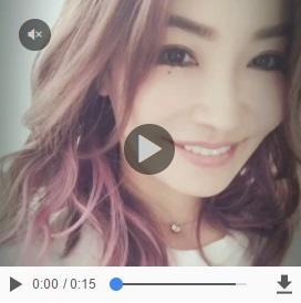 平子理沙 ピンク多めの髪にした動画公開「美しい」「メロメロ」