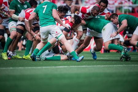 強いアイルランド代表が日本代表の前に立ちはだかる