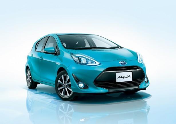 新車販売台数4年連続No.1「アクア」が外観を大幅に変更してマイナーチェンジ!