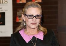 キャリー・フィッシャーさんの死因は無呼吸睡眠 体内から薬物検出