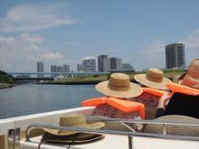 豊洲運河でカフェ&クルーズ!芝浦工業大学「夏の船カフェ」開催