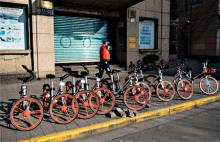 中国自転車シェア、日本進出