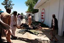 銀行に車爆弾、34人死亡=アフガン