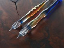 書く贅沢!すべての文具好きに捧げる限定8本のガラスペン