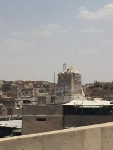 IS象徴モスク、無残な姿=尖塔は根元だけに-イラク・モスル