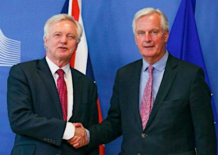EU離脱交渉スタート
