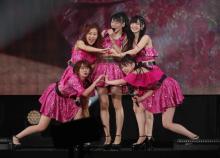 ℃-ute、涙のラストスピーチ「悔いはありません」<メンバー5人コメント全文>