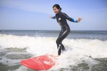 サーフィンの聖地、千葉で憧れのサーフィンデビュー!