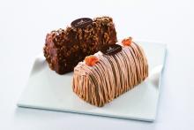 凍らせたまま味わう新感覚生ケーキにモンブラン&キャラメルショコラの限定セット