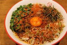 新「灼熱まぜそば」の辛さやいかに?三田製麺所灼熱祭り実食レポ