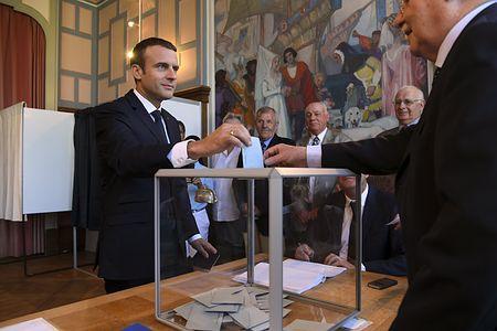 大統領新党、議席6割獲得=安定政権確立-仏下院選