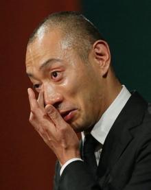 海老蔵さん「妻が旅立ちました」=「愛してる」と麻央さんから言葉
