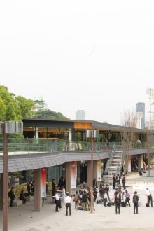 天守閣を見ながらBBQも!大阪城公園に日本初登場のグルメもある新名所が誕生
