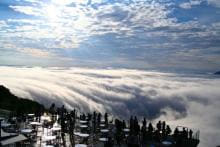 新スポットも登場!? 北海道・トマムの雲海テラスで絶景ビューを見る