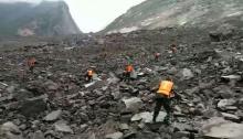 土石流で141人行方不明=村ごとのみ込み、生き埋めに-中国四川省