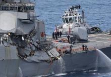 米の情報提供どこまで=回避義務焦点、原因調査-イージス艦衝突事故1週間