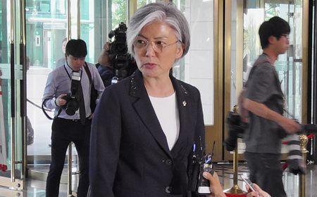 康外相の任命強行=外遊前に文大統領-韓国