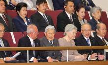 両陛下、学習院でコンサート鑑賞