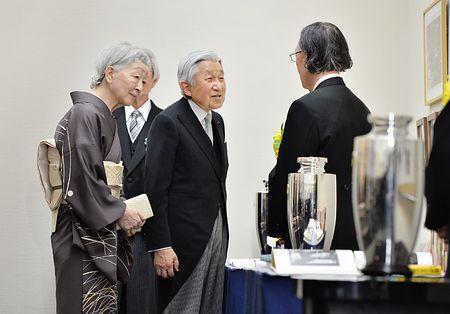 両陛下、日本芸術院授賞式に