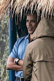 インドネシアで休暇=オバマ氏