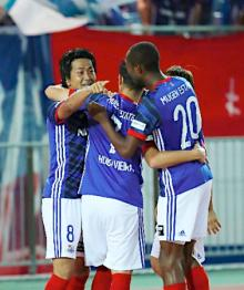 横浜Mが4連勝=Jリーグ