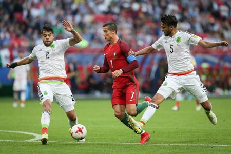 ポルトガルとメキシコ分ける=サッカー