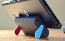 サンコー、Nintendo Switchのために作られた10000mAhバッテリー。ケーブル不要でスタンドにも