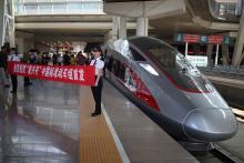 高速鉄道「復興号」デビュー=習主席スローガンで命名-中国