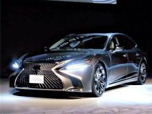 新型レクサスLSを日本初公開=トヨタ