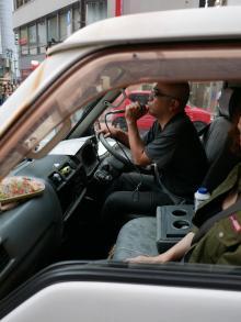 「共謀罪をものともせず」自称テロリスト・外山恒一が都内を街宣中