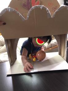 後藤真希 Amazon段ボールで娘とお店屋さん作り「結構楽しそう」