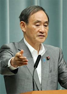 文科・農水省は抵抗勢力=菅長官