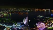 地上273mのビアガーデン「スカイガーデン」横浜の夜景を独り占めしてフード&ドリンクを堪能