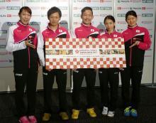 タカマツペア、3年ぶり優勝に意欲=9月にジャパン・オープン-バドミントン