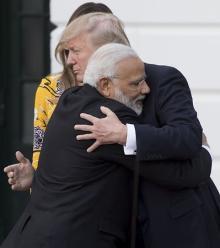 米大統領、インドとの友好継続へ配慮=経済面では対立潜在