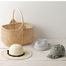 おしゃれな大容量バッグと日よけ帽子はBBQの必需品!