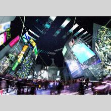 最新テクノロジーを駆使した光と映像の演出でTOKYOを表現するアートイベント
