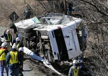 バス社長ら書類送検=軽井沢15人死亡事故-業過致死傷容疑・長野県警