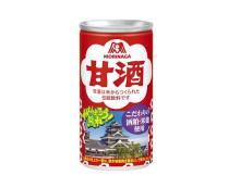 飲んで熊本城復興を支援!「森永甘酒」に熊本城デザインの限定缶