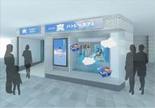ロッテ史上初!「爽」ハッピーなカフェが大阪に期間限定オープン