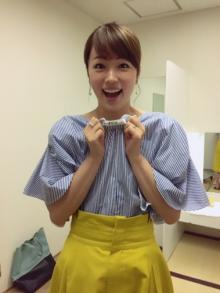 本田朋子アナ 番組中、衣装を後ろ前反対に着ていたことを告白