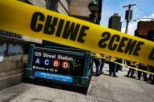 地下鉄脱線、34人負傷=車内に煙-NY