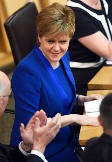 独立投票、早期実施断念=総選挙不振受け自治政府首相-スコットランド