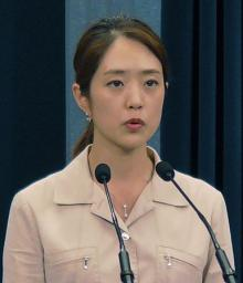 大統領府「有事非常態勢」=元女子アナ副報道官が初会見-韓国